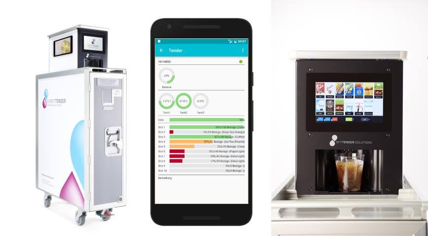 Getränkeautomat per App steuern