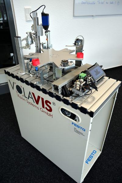 Volavis-Produkte auf der Hannover Messe