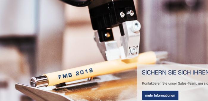 Volavis auf der FMB 2018 – Zuliefermesse Maschinenbau